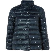 BNWT womens ARAMANI JEANS LOGO REVERSIBLE PUFFER DUCK DOWN jacket RRP £210