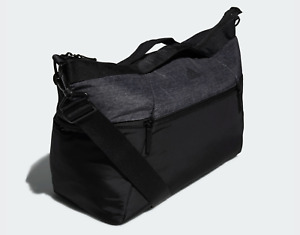 NWT Addias Women's Training Studio 3 Duffel Bag Black Gray Gym Bag CK0697