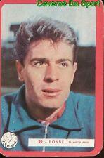029 JOSEPH BONNEL US.VALENCIENNES FOOTBALL CARTE MIROIR SPRINT 1960's RARE