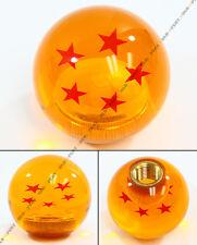M10 X 1.25 DRAGON BALL Z 5 STAR STYLE ACRYLIC ROUND SHIFT KNOB FOR MITSUBISHI