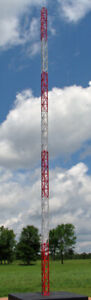 N Scale Pre-Painted Radio Tower Transmission Tower (111)
