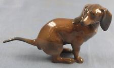 Dackel Porzellanfigur dachshund figur porzellan Rosenthal kackender hund