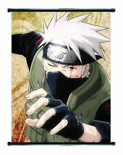 Naruto Anime Kakashi Wall Scroll Extra Large Size - 60x90 CM