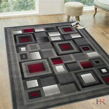 Luxury Home Decor Flooring 8x10 Rugs Carpet Abstract Geometric Modern Square Rug