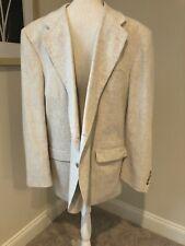 David Taylor Beige Linen Sport Coat Size 44L