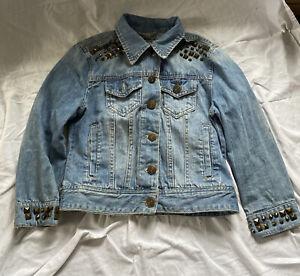 Ladies/girls Denim Jacket Size UK 8
