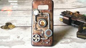 Steampunk 3D Phone Case Cosplay Retro Vintage, for most phones, copper silver