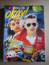 IL MONELLO OKAY n°46 1989 Jovanotti Rosita Celentano Renato Zero  [G428]