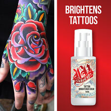 Inked Up Tattoo Abrillantador Crema – aclara Tatuaje Cerraduras En Tinta Cura Skin