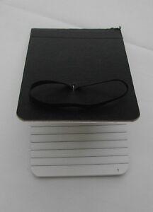 Pocket Hardbacked Numbered Notebook
