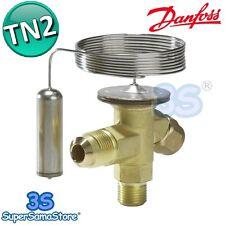 3S VALVOLA TERMOSTATICA D'ESPANSIONE TN2 DANFOSS REFRIGERAZIONE GAS R134A NUOVA