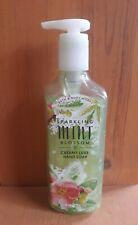 1 Bath & Body Works SPARKLING MINT BLOSSOM Creamy Luxe Hand Soap 8 Oz Rare