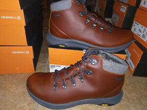 NEW $180 Mens Merrell Ontario Thermal Mid Winter Waterproof Boots Shoes, sz 11