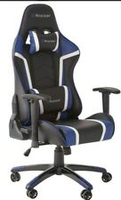 X ROCKER AGILITY FAUX LEATHER GAMING CHAIR - BLACK & BLUE