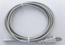 White VOLEX AC Power Cord 7A / 125V For Apple TV Mac Mini Time Capsule 18awg