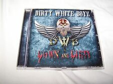 Dirty White Boyz - Down & Dirty CD 2017 British Melodic Hard Rock Tony Mitchell