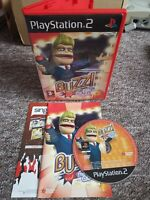 Buzz! The Big Quiz - Sony Playstation PS2 Game - With MANUAL! Fast & Free P&P!