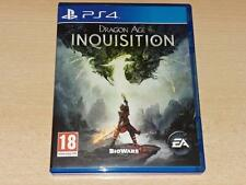 Dragón age Inquisición PS4 Playstation 4 ** ** GRATIS UK FRANQUEO