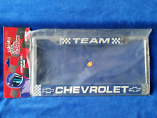 1999 Racing Champions Liscense Plate Cover Team Cheverolet