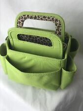 Green & Leopard Small garden caddy