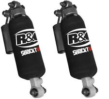 R&G Racing Shocktube Rear Shock Covers to fit Honda FJS 600 Silverwing (Pair)
