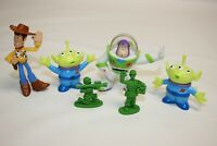 Lot of (6) Disney Pixar TOY STORY Figure Character Toys Woody Buzz Alien Army