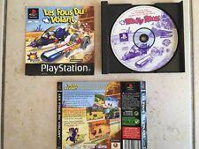 LES FOUS DU VOLANT sur Playstation 1 - PS 1 - TBE - SANS LA BOITE - PAL