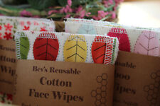 Cotton Face Wipes/Cleansing Facial Rounds/Reusable Makeup Remover Pads