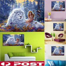 Full Drill DIY 5d Lion Diamond Embroidery Painting Cross Stitch Kit Home Decor