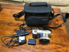 Sony A5000 Mirrorless Camera with 16-50mm Lens and Sony Camera Bag