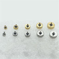 Gold Silver Inner Diameter 2mm Watch Crowns Repair Accessories Assortment Parts