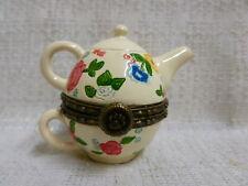 Boyds Bear Granny Mae's Teapot W/ Cammy McNibble Treasure Box 1E 4015204 New