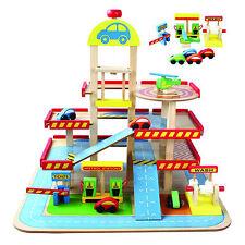 """Kinderspielzeug """"Garage"""" Holz Autos Parken Kinderzimmer"""