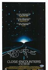 Richard Dreyfuss Signed Close Encounters Of The Third Kind 12X18 Beckett Bas 3