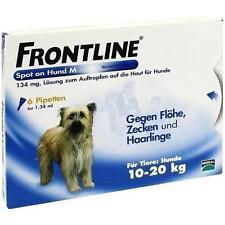 FRONTLINE Spot on H 20 Lösung f.Hunde 6 St PZN 2246395