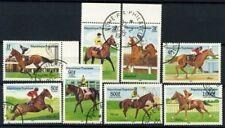 Togo 1985 Mi. 1836-1843 Used 100% Horse racing Ippica