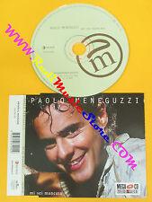 CD singolo Paolo Meneguzzi Mi Sei Mancata 74321861092 ITA no lp mc vhs dvd(S17)
