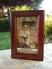 Shadow Key Box Decorative Decor For Cooking Enthusiast