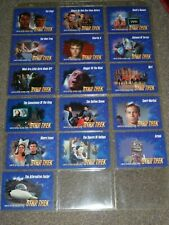Star Trek TOS Skybox Limited Edition Episode Trading Cards - VHS Exclusive