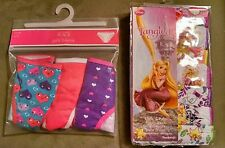 10 Pairs Toddler Girl Underwear Size 4 NIP Disney Tangled & Children's Place