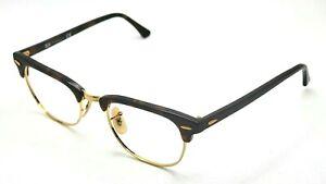 Ray Ban RB5154 2372 Gold Tortoise Eyeglasses 49-21 140 Missing Lens Screw