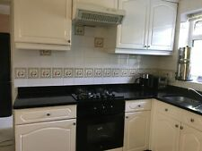 COMPLETE GLOSS WHITE USED KITCHEN WITH GRANITE & APPLIANCES