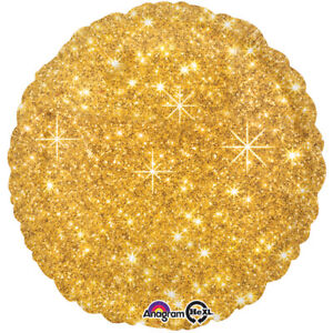 Gold Sparkle 17 Inches Balloon