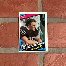 Howie Long Rookie Card 1984 Topps  #111 RC Oakland Raiders