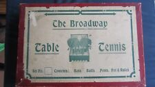 Vintage Table Tennis Set - The Broadway - Excellent Condition