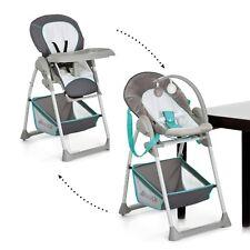 hauck Hearts Sit N Relax 2 In1 Highchair Baby Feeding Highchair Bouncer Grey