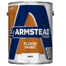 Armstead Trade garage shed unit Floor Paint Grey 5 Litres