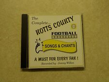 'The Complete Notts County Football Club Songs & Chants' 11 Track CD 2000