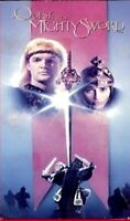 """vhs QUEST For The MIGHTY SWORD RCA Columbia Pictures RARE """"CRAP KING""""Collectible"""
