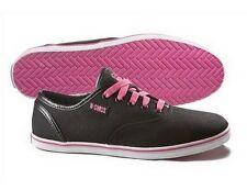 K-Swiss Hof II Zapatos Gr.39, 5 Nuevo Negro Gb 6 Mujer Lona Vintage Zapatillas